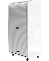Medium Rolling Cabinet White - Rolling-C
