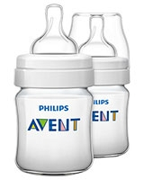 Feeding Bottle Classic+ 2 Pieces 125 ml - Philips Avent