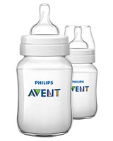 Feeding Bottle Classic+ 2 Pieces 260 ml - Philips Avent