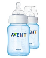 Feeding Bottle Classic+ 2 Pieces 260 ml Blue - Philips Avent