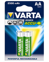 Power Accu 2AA 2500 mAh rechargeable battery 56756 - Varta