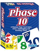 Phase 10 card game - Nilco
