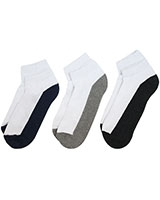 Sport Pack of 3 Socks 5980/3 Multi-Color - Solo