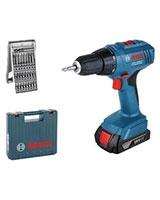 Cordless Drill/Driver Professional GSR 1800-LI + Tool Box - Bosch