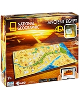 Ancient Egypt National Geographic Series - 4D City Scape