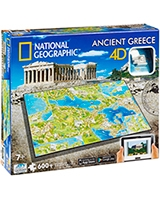Ancient Greece National Geographic Series - 4D City Scape