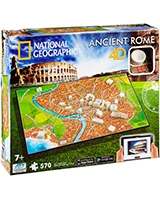 Ancient Rome National Geographic Series - 4D City Scape