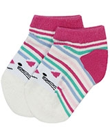 kids Socks 6194 Fushia/White - Solo