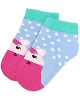 kids Socks 6198 Fushia/Sky - Solo