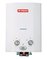 Splash Digital Gas Water Heater 6 Liter White - Fresh