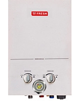 Spa Gas Water Heater White 6 L - Fresh