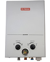 Spa Gas Water Heater Silver 6 L - Fresh