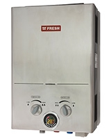 Spa Gas Water Heater Stainless 6 L - Fresh