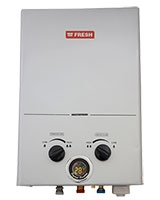 Splash Digital Gas Water Heater 6 Liter Silver - Fresh