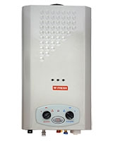 Splash Digital Gas Water Heater 10 Liters Silver - Fresh