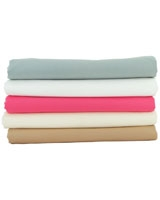 Lucido plain flat bed sheet size 180x270 - Comfort