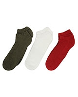 Sport Pack of 3 Socks 6155 Multi-Color - Solo