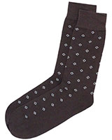Casual Lycra Socks 6292 Brown - Solo