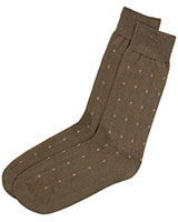 Casual Lycra Socks 6293 Dark Beige - Solo