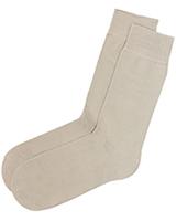 Casual Lycra Socks 422 Beige - Solo