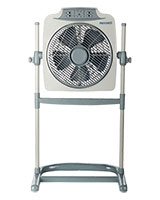 "Stand Box Fan 12"" 5 Blades With Remote Control MT-BF109RC - Media Tech"