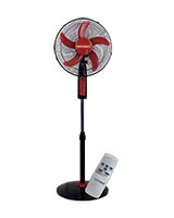 "Stand Fan 16"" 5 Blades With Remote Control MT-SF165RC - Media Tech"
