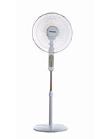 "Stand Fan 16"" 3 PP Blades With Remote Control MT-S44RC - Media Tech"