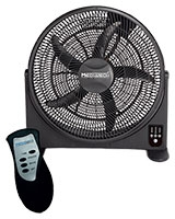 "Floor Box Fan 20"" With Remote Control MT-20FC - Media Tech"