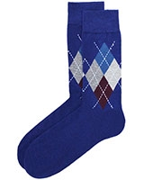 Casual Lycra Socks 6264 Blue - Solo