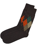 Casual Lycra Socks 6264 Brown - Solo