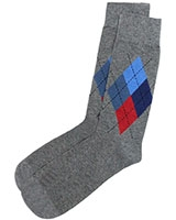 Casual Lycra Socks 6264 Grey - Solo
