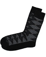Casual Lycra Socks 6265 Black - Solo