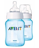 Feeding bottle 2 Classic 260ml Blue - Philips Avent