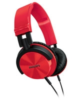 Headband Headphones SHL3000RD DJ monitor style Red - Philips