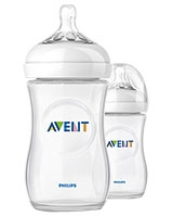 Natural Baby Bottle 2 Pieces 260 ml - Philips Avent