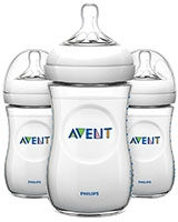 Natural Baby Bottle 3 Pieces 260 ml - Philips Avent