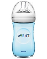 Natural Baby Bottle 2 Pieces 260 ml Blue - Philips Avent