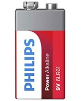 Power Alkaline Battery 9V - Philips