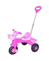 My First Trike Pink Parent Handle - Dolu