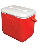 30 Quart Red Cooler - Coleman
