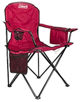 Red Oversized Cooler Quad Chair - Coleman
