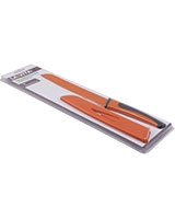8 inch Orange Bread Knife Kaleido Scope - La Vita