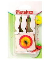 Sunflowers 6 Pcs Cocktail - Metaltex