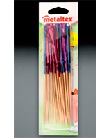 24 Pcs Cocktail Sticks Frills - Metaltex