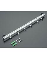 6-Hook Hanging Bar 38 cm - Metaltex