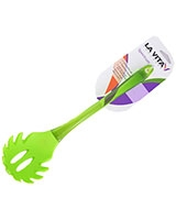 Green Silicon PS Handle Pasta Server Spectrum - La Vita