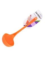 Orange Silicon PS Handle Ladle Spectrum - La Vita