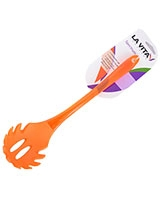 Orange Silicon PS Handle Pasta Server Spectrum - La Vita