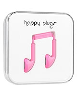 Earbud Pink - Happy Plugs