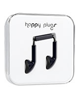 Earbud Black - Happy Plugs